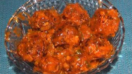 Veg Manchurian - Indo Chinese Appetizer