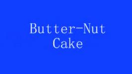 Homemade Butter Nut Cake