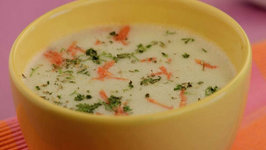 Herbed Potato Soup by Tarla Dalal
