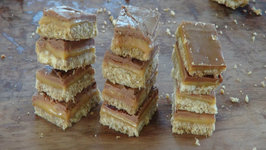 Becca's Caramel Slice - Caramel, Chocolate and Coconut Bars