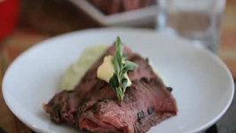 Sous Vide Beef Tenderloin with Truffle Butter