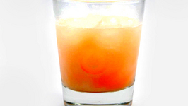 Candy Corn Vodka Cocktail