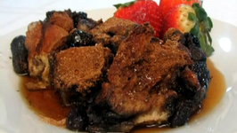 French Toast Casserole with Blueberries -- Lynn's