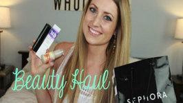 Beauty Haul: Sephora, Vitacost, Drugstore