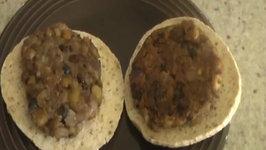 Vegetable Bean Patties / Homemade Veggie Burgers