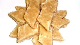 Indian Kaju Burfi Sweet