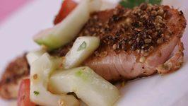 Coriander Crusted Salmon Recipe