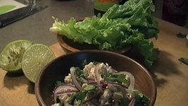 Laab Gai (Thai Chicken Salad)