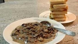 Crunchy Mushroom Toast