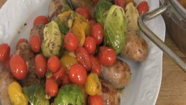 Oven Roasted Sausages with Cherry Tomatoes