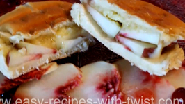 Peach Honey Cheese Sandwich