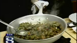 Gnocchi With Eggplant Caponata