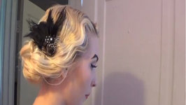 Vintage Hairdo for Finger Waves or Pin Curls