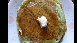 Green Tea Pancakes