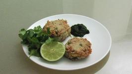 Tuna And Potato Cutlet