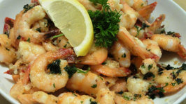 Sauteed Garlic Shrimp