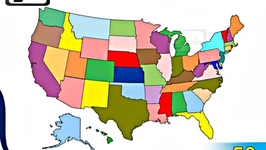 List of 50 States of USA in Alphabetical Order with Map - General Knowledge