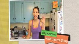 Raw Vegan Carrot Soup