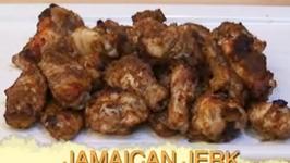 Jamaican Baked Jerk Chicken Wings
