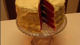 Sensationally Sweet Valentine's Day Red Velvet Cake