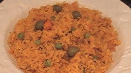 Spanish Yellow Rice with Cod Fish