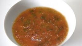 Watercress And Tomato Soup