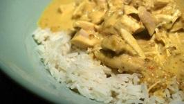 Chicken, Turkey or Pork Curry
