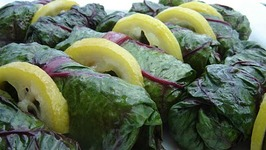 Quinoa Stuffed Swiss Chard Rolls - Part 1 - Preparation