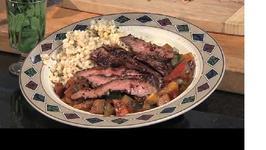 Flank Steak and Ratatouille