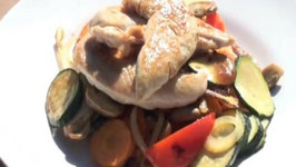 Chicken and Vegetable Grill