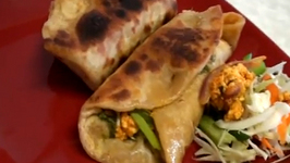 Khathi Rolls - Vegetable Frankie (Start to Finish)