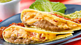Protein Packed Spicy Turkey Quesadilla