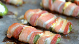 Bacon Wrapped Cream Cheese Filled Jalapenos  Party Bites and Appetizers