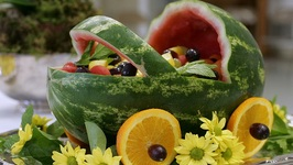 Baby Carriage Fruit Bowl Food Idea For Baby Shower by mel4576 | ifood.tv