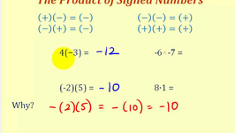 Multiplying and Dividing Signed Numbers