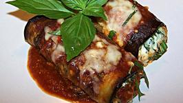 Roasted Eggplant Rollatini