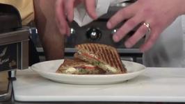 Healthy Grilled Zucchini Sandwich