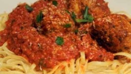 Quick and Easy Meatballs and Spaghetti