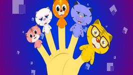 The Finger Family Cat Family Nursery Rhyme