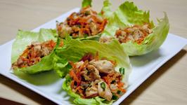 Chipotle Chicken Wraps and Asian Chicken Nachos