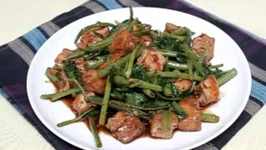 how to cook fried kangkong