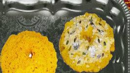 Rajasthani Ghevar - Sweet Delicacy Dessert