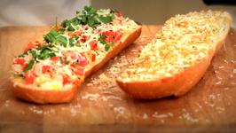 Bangin' Cheesy Garlic Bread