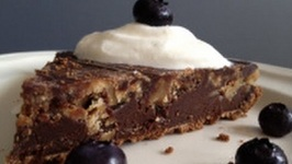 TBT Chocolate Ganache Caramel Pie