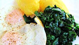 Keerai Poriyal - Fried Spinach