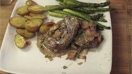 Grilled Steak Diane