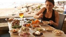 Manta Ray at the Tel Aviv Beach