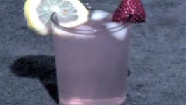 Strawberry Palm Cocktail