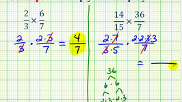 Example:  Multiplication Involving Fractions