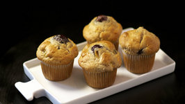 Stemilt Peach and Cherry Muffins